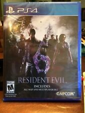 PS4 Resident Evil 6 + maps + Multi-player DLC NEW Sealed Region Free USA