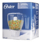 Oster Blender Food Processor Chopper Attachment 3 Cup Capacity 4861 ORIGINAL NEW