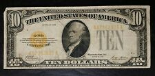 1928 $10 Gold Certificate Woods/Mellon
