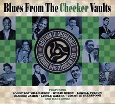 BLUES FROM THE CHECKER VAULTS - 40 ORIGINAL BLUES CLASSICS  (NEW SEALED 2CD)