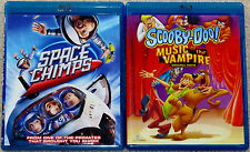 Kid Blu-ray Lot - Space Chimps (Used) Scooby-Doo! Music of the Vampire (Used)