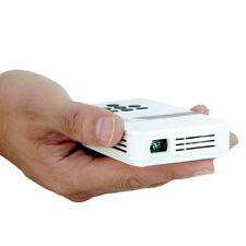 AAXA LED Pico Pocket Projector, with 80 min Battery Life, 15,000 hr LED Life, Mi