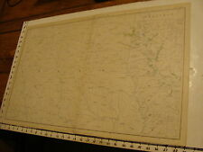 1890's Vintage CIVIL WAR MAP: plate CLVIII Gen Topo part of TEXAS, LOUISIANA