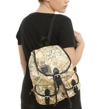 Harry Potter Marauders Map Slouch Backpack Book Bag Gift New With Tags!