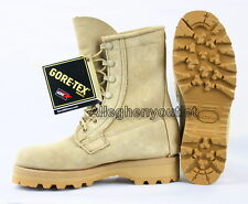 USGI Military Army ICW Cold Weather DESERT TAN GORETEX BOOTS 5W w/ Booties NIB