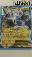Pokemon THUNDURUS EX BW81 ULTRA RARE HOLO PROMO - nm