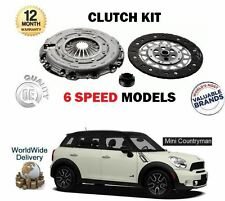 FOR BMW MINI COUNTRYMAN R60 1.6 COOPER ALL4 S D SD 2010-  6 SPEED CLUTCH KIT