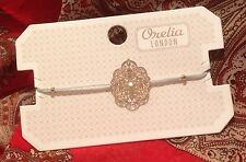 ORELIA LONDON PRETTY FILIGREE FRIENDSHIP BRACELET GREEN FASHION JEWELLERY ~8466~