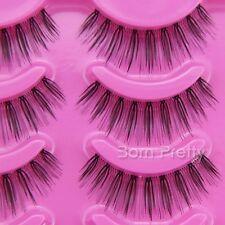 5 Paare handmade künstliche falsche Wimpern Soft False Eyelash Makeup #17105
