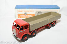 P DINKY TOYS 501 FODEN DIESEL 8-WHEEL WAGON TRUCK 1ST TYPE NM BOXED RARE SELTEN