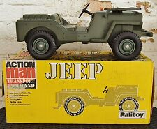 1970's PALITOY ACTION MAN SERIES - TRANSPORT COMMAND JEEP with BOX