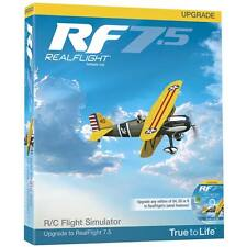 GREAT PLANES REALFLIGHT 7.5 UPGRADE G4 AND ABOVE FLIGHT SIMULATOR GPMZ4528 !!