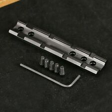 Tactical Dovetail to 20mm Weaver Picatinny Sight Scope Rail Base Mount Converter