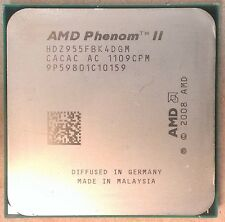 AMD Phenom II x4 955 BLACK EDITION Deneb Quad-Core 4x 3.2 GHz SOCKET am3