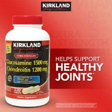 Kirkland Signature Extra Strength Glucosamine/Chondroitin Sulfate -  220 tablets