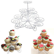 3 Tier 13 Cupcake Cake Dessert Metal Stand Holder  Birthday Party Display Hot J