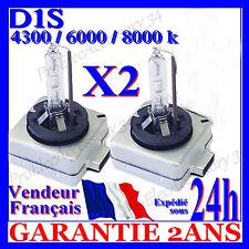 PAIRE 2AMPOULE XENON D1S 35W KIT HID POUR REMPLACEMENT RECHANGE LAMPE FEUX PHARE
