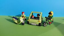 Playmobil auto moto scooter