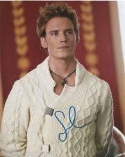 Sam Claflin Autographed Signed 8x10 Photo COA