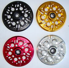 DUCATI HDESA CNC billet dry clutch pressure plate Gold anodized fits 6 Speed