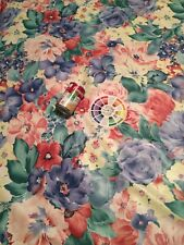 Mill Creek Multicolor Floral Print Fabric Young at Heart Over 6 Yds