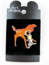 Bambi & Thumper Pin Touching Nose Disney 2009 New on Card  a