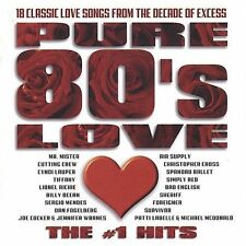 PURE 80'S LOVE: THE #1 HITS CD - VARIOUS ARTISTS (2003) - NEW UNOPENED - POP