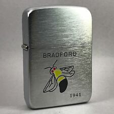 2004 Zippo Lighter 1941 Replica Bradford Bees Baseball Team New and Unfired