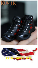 1/6 kumik women High Top Sport Boots Sneakers S-12 Phicen hot toys US seller