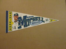 MLB Seattle Mariners #7 Kevin Mitchell Photo Pennant