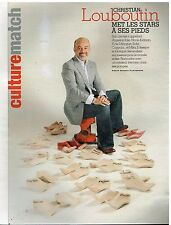 Coupure de presse Clipping 2008 (3 pages) Christian Louboutin
