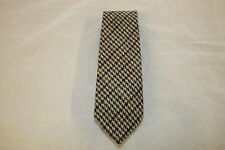Scottish 100% Wool  Woven Tweed Tie - Country Dogtooth, Variation 1