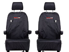 #062 GENUINE VOLKSWAGEN TRANSPORTER T5 SPORTLINE SEAT COVERS ,CAPTAIN SEATS