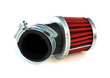 Sport Luftfilter 38mm rot Pit Dirt Bike Quad ATV GY6 4-Takt Chinaroller 50ccm