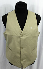 Burton The White Collection Vest Size Large Padded Insulated