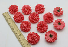 10pcs Rose red color daisy Artificial Silk Flower Heads Bulk Wedding Party Decor