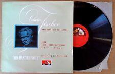 BACH / BRANDENBURG CONCERTOS - EDWIN FISCHER - HMV ALP 1084 - U.K. LP