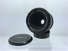 Canon FD 50mm f/3.5 Macro Lens for Canon or Mirrorless