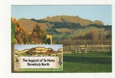 The Legend of Te Mata Havelock North New Zealand 1992 Postcard 477a