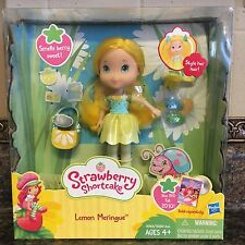 Strawberry Shortcake Doll Lemon Meringue ~ Style Her Hair With Accesories Hasbro