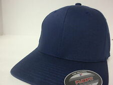 PLAIN BASEBALL FITTED CAP FLEXFIT 5001 SOLID BLANK FLEX FIT HAT YUPOONG SIZED