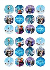 Disney Frozen Fairy cup cake decoration toppers x 24 on ICING