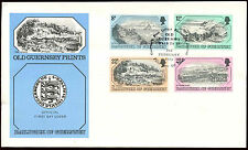 Guernsey 1982 Prints FDC First Day Cover #C32311