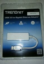 TRENDnet USB 3.0 to Gigabit Ethernet LAN Wired Network Adapter for Windows, Mac,