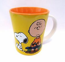 Charlie Brown Snoopy Coffee Cup Stoneware 15 oz The World Is Filled With Mondays