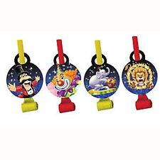 Circus Big Top Party Blowouts 8pk