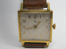 VINTAGE LUCH SOVIET USSR WRISTWATCH GOLD PLATED 23 JEWELS 2209 POLJOT DE LUXE