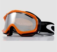 Oakley 01-837 AMBUSH Atomic Orange Black Mens Womens Snow Board Ski Goggles New