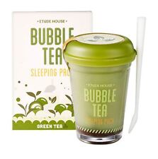 ETUDE HOUSE Bubble Tea Sleeping Pack 100g - Green Tea