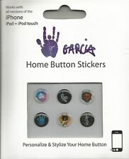 Jerry Garcia Home Button Stickers * by Jerry Garcia (2015) iPhone